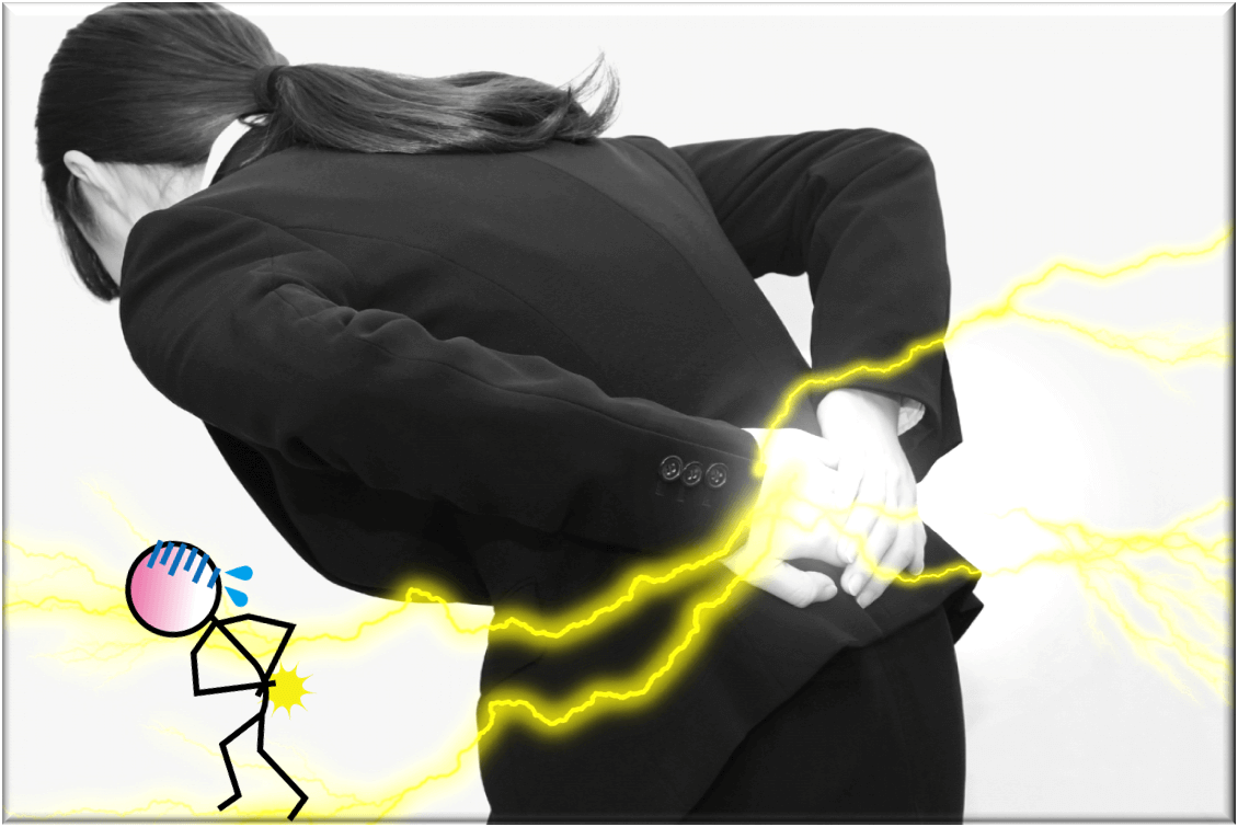 ぎっくり腰の原因と改善方法