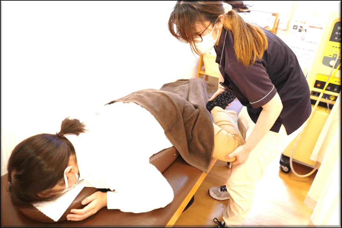 骨盤矯正の施術法