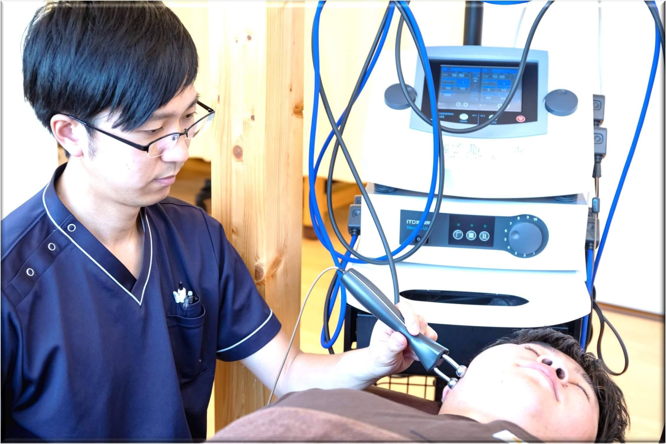 あごの痛みの施術法