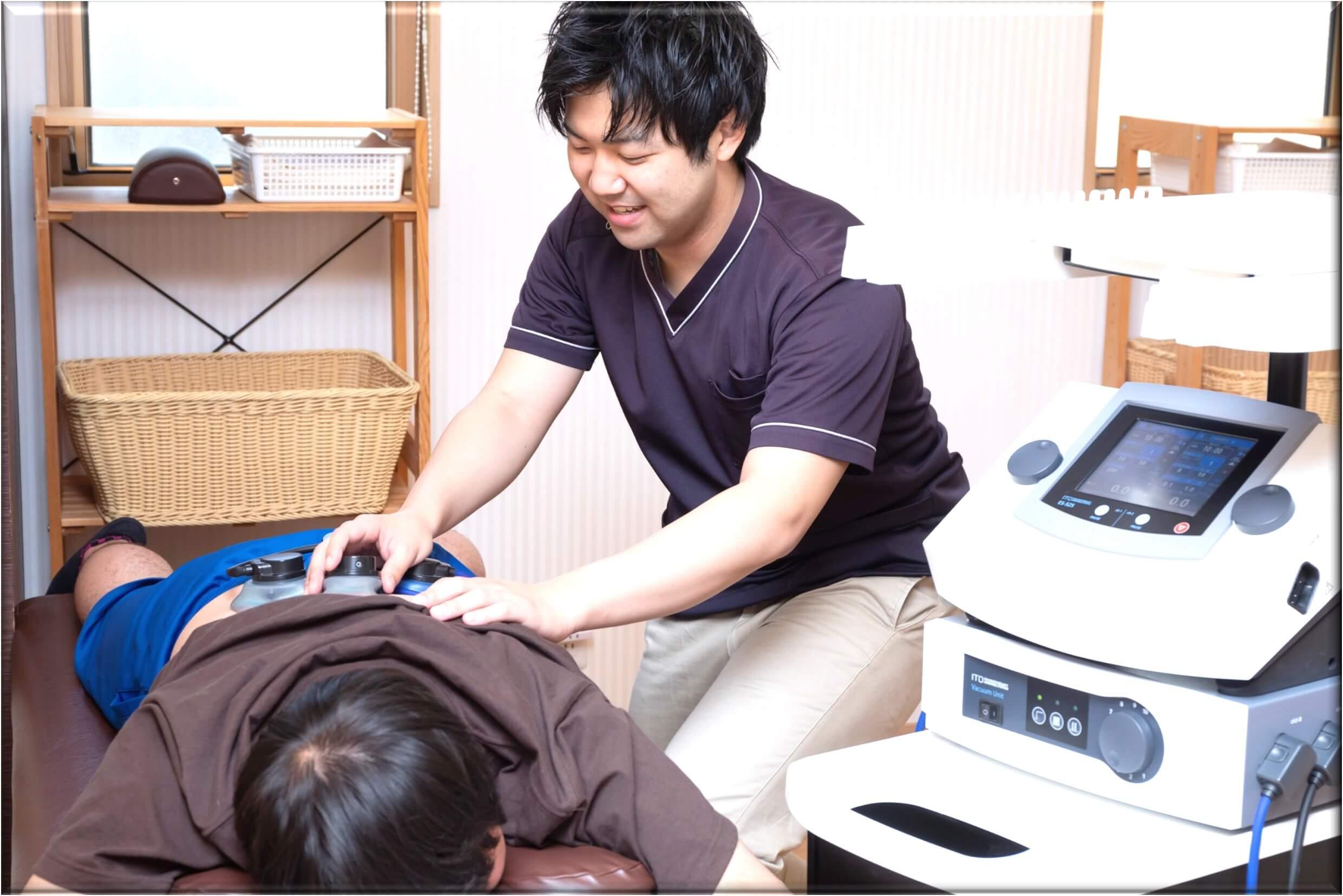 腰椎すべり症の施術法