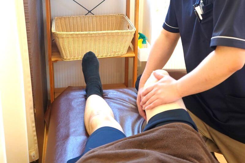 変形性膝関節症の施術法